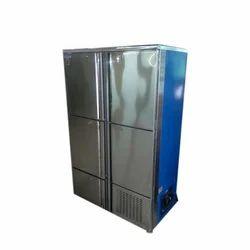 Stainless Steel Large Kitchen Freezer, Auto-Defrost