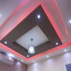 Decorative Gypsum False Ceiling Service