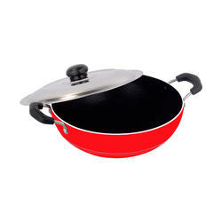 Noodles Making Non-Stick Aluminium Deep Kadai (2.6L)