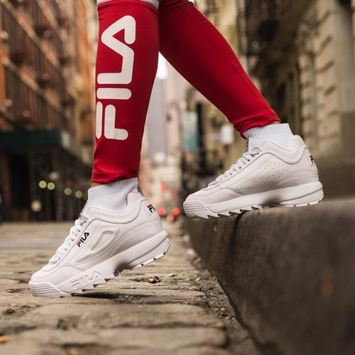 Girls Fila Disruptor Shoe, Size: 7, Rs
