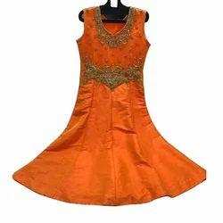 Orange Frock Suit