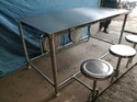 Foldable Canteen Table