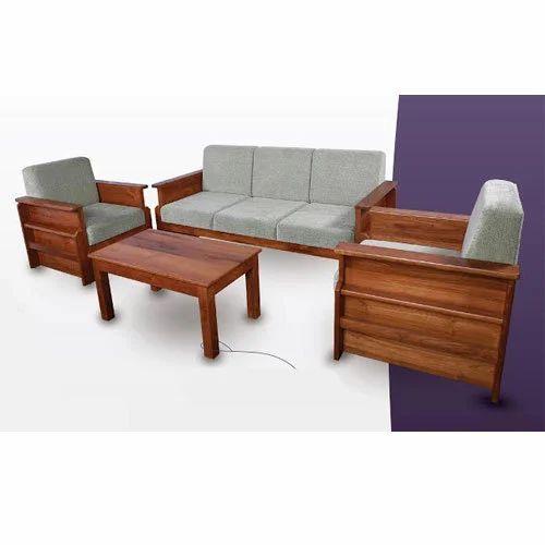 Teak Wood Sofa Set Rs 62000 Set Vip Wood Crafts Id 15203458455