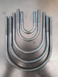 Round U Bolt, 50 K.g Bag Packing, Size: 20mm To 200mm