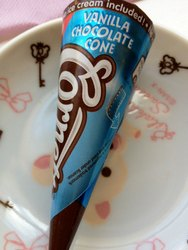 Choco Vanilla Cornetto Ice Cream