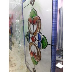 Decorative Window Glass, Size: 6 x 3 Feet