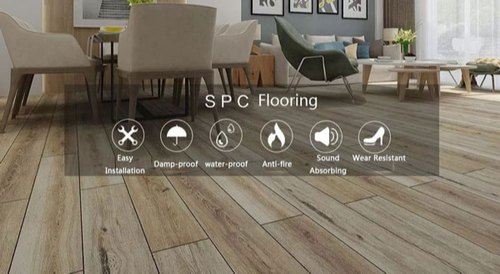 SPC Flooring (Stone Plastic Composite)