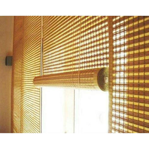 Office Bamboo Blinds At Rs 60 Square Feet बांस के