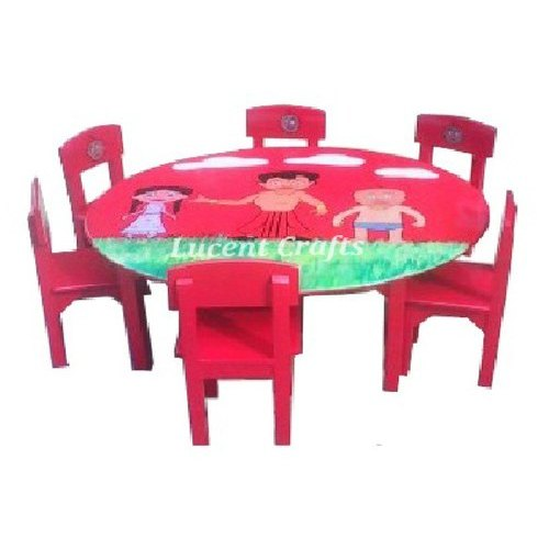 Kids Round Table With 6 Chairs At, Lego Table With Chairs India