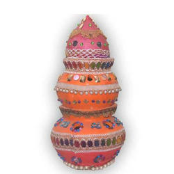 Earthen Garba Pot
