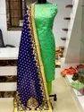 Unstitched Trendy Banarasi Salwar Suit