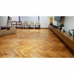 Teak Wooden Flooring In Pune ट क व डन फ ल र ग