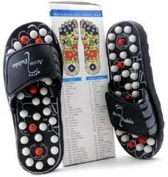 Black Acupressure Footwear