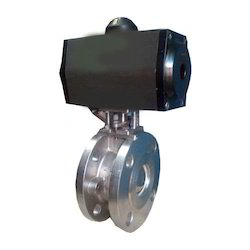 Pneumatic Rotary Operated PTFE Lined Butterfly Valve