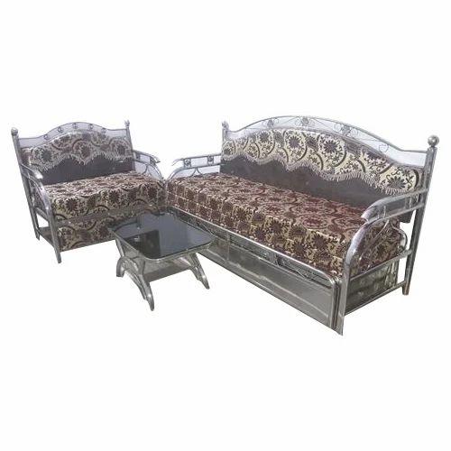 Modular Stainless Steel Sofa Set At Rs 20000 Set Stainless Steel Sofa Set Id 17730206448