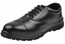 Oxford Pain Toe Shoes Black