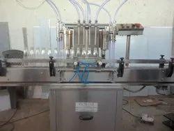 Automatic Glass Filling and Sealing Machine