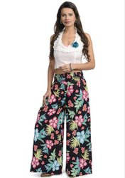 Party Wear Printed Palazzo, Size: Xl