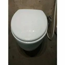 Commercial Wall Hung Toilet Seat, Packaging Type: Box