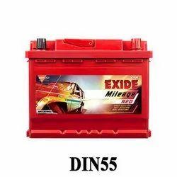 Capacity: 55AH Price After Old Battery Exchange (Same Ah): 5600 Exide MLDIN55