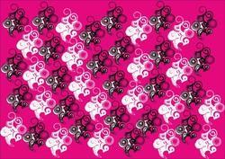 Pink & Black Gift Wrapping Paper