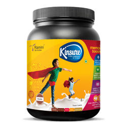 Male Ramini Bio Nutrition Kinsure - Children Nutritional Supplement, Milk Chocolate, Grade: Powder