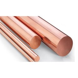 5 To 200mm Round Copper Rod, For Construction