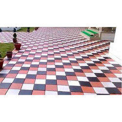 Outdoor Floor Tile, Size: 15x10 Inch And 2x2 Ft