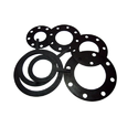 Round Nitrile Rubber Gaskets, 2.5-6.5 Mm
