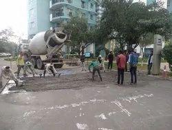Concrete RCC Road Work