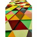 Colored 3D Tent Carpet
