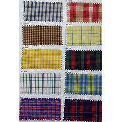 Kids Uniform Check Fabric