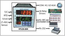 Temperature Humidity Process Data Logger HTLOG-804