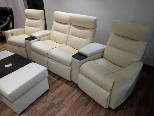 Divani Design.Img Norway Divani Home Theater Recliner Four Seater Rs 550848