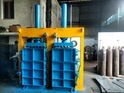 Double Box Double Cylinder Pet Bottle Baling Machine