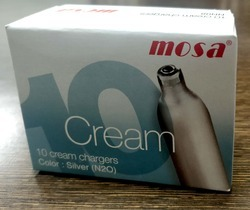 Mosa Whip Cream Charger, Capacity: 2 Cylinder/ 1 ltr. bottle , Model: Mosa