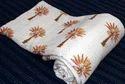 Hand Block Print Kantha Quilt