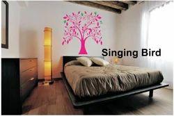 Big Stencils Singing Bird