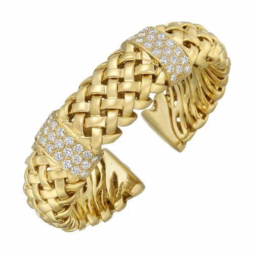 Hip Hop Diamond Bracelet 14k