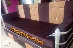 Glossy Sofa Cum Bed
