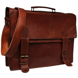 Handmade Leather Messenger Laptop Bag
