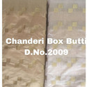Chanderi Zari Jacquard Silk Fabric