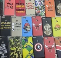 1 Day Multicolor Mobile Cover Printed Job Work, Dimension / Size: 5 Inch