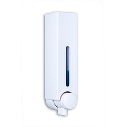 Soap Dispensers White Double