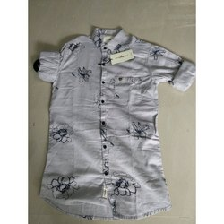 Mr Signature Collar Neck Mens Designer Cotton Shirt