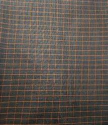 Polyester Party Wear Reflugent Chex & Plain Fabric, GSM: 100-140
