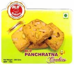 Eggless Cool & Dry Place Alif Bakers Panchratna Cookies