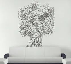 PVC Vinyl Designer Wall Decal