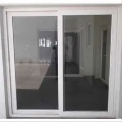 Prominance White UPVC Glass Sliding Window, Glass Thickness: 5 To 24mm