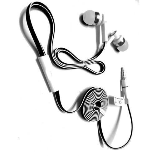 Black And White Mobile Phone Headset